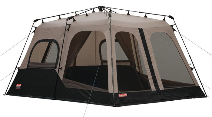 coleman 8 person tent with room divider