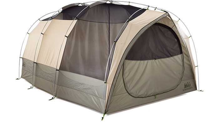 rei kingdom 8 tent with 2 separate rooms