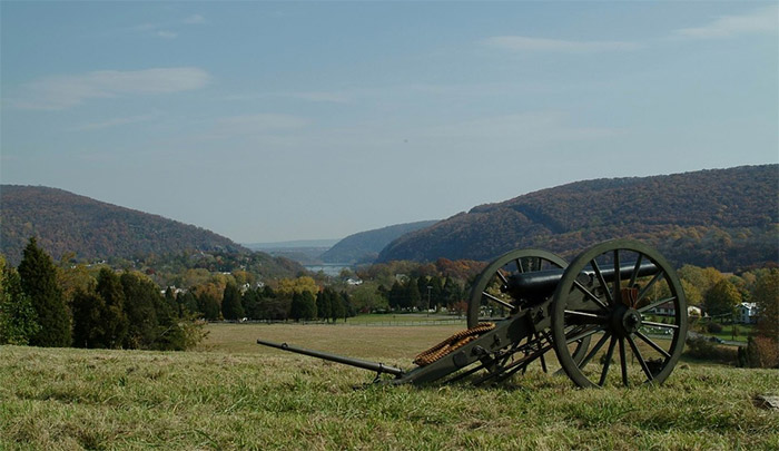 hiking harpers ferry west virginia