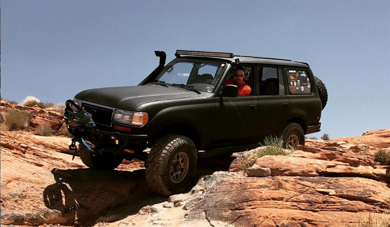 overland lexus lx 450 in moab