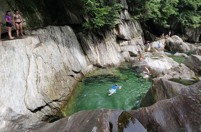 vermont swimming hole