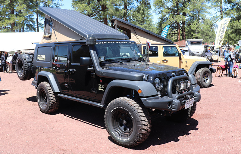 american safari jxl jeep camper