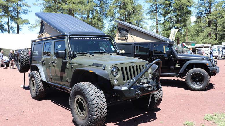jeep wrangler jk jl extension camper system american safari jxl