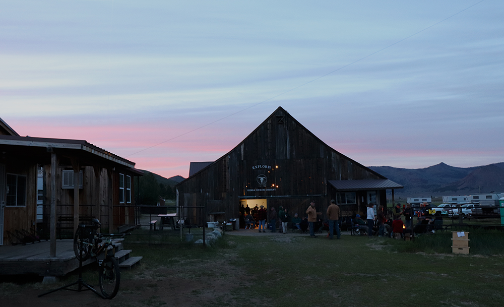 diamond s ranch barn at night beckwourth california