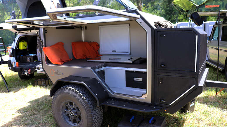overkill camper tk47 squaredrop trailer 4x7 foot trailer