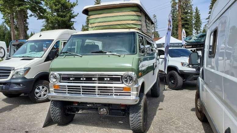 1971 ford econoline 4x4 sportsmobile overland resto mod