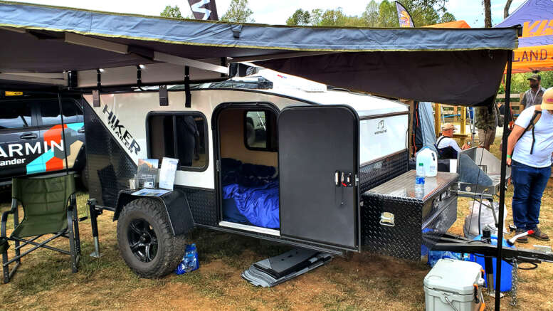 hiker trailer 5x9 foot extreme off road trailer