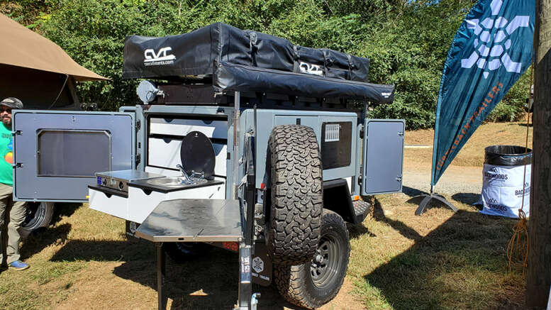 turtleback expedition trailer