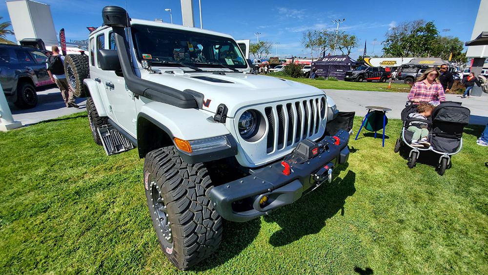 AEV jeep wrangler jlu conversion