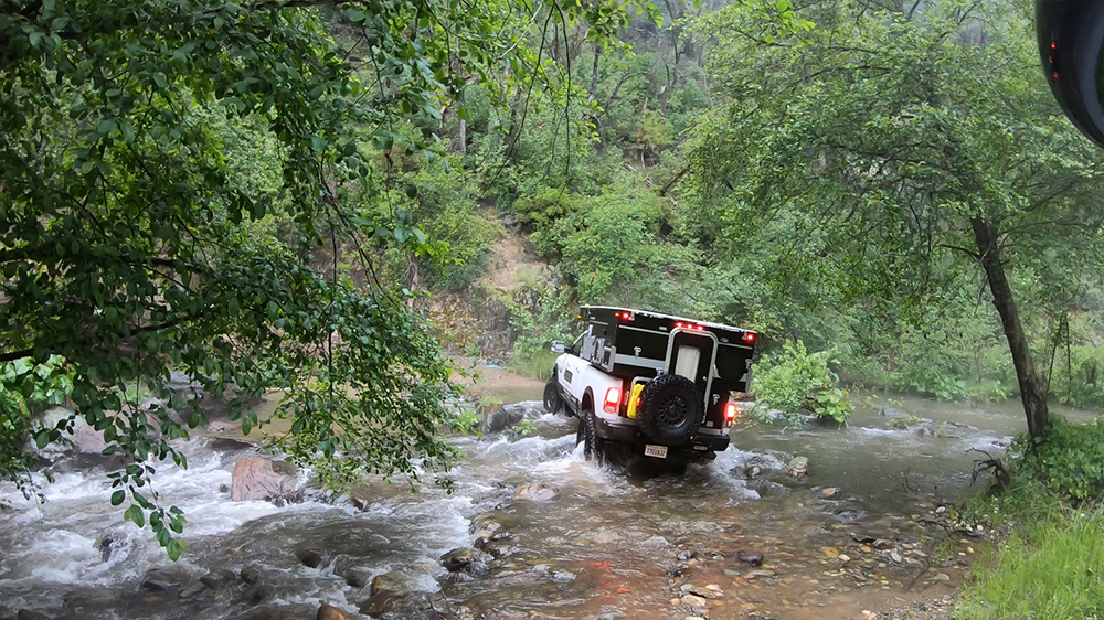 four wheel camper creek crossing