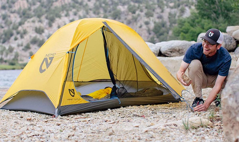 hornet elite ultralight backpacking tent setup
