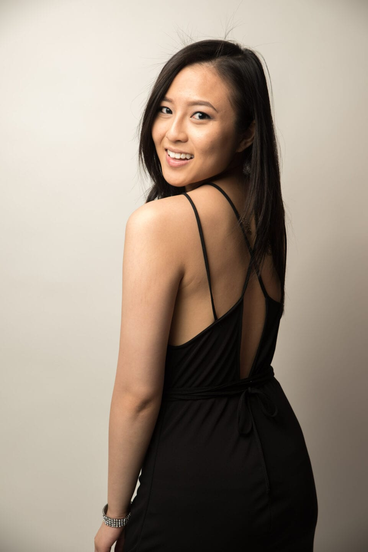 003-Edmonton Calgary Fashion Portrait Photography Pretty Little Black Dress