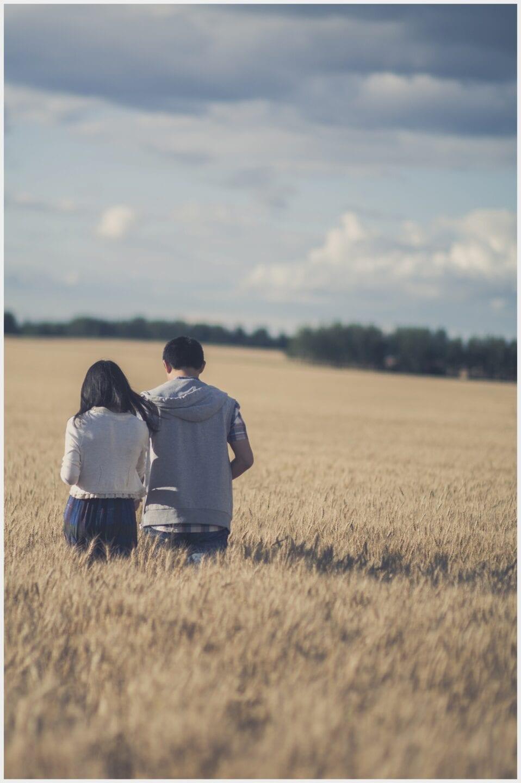 008-Calgary Wheat Field Edmonton Engagement Photography _WEB