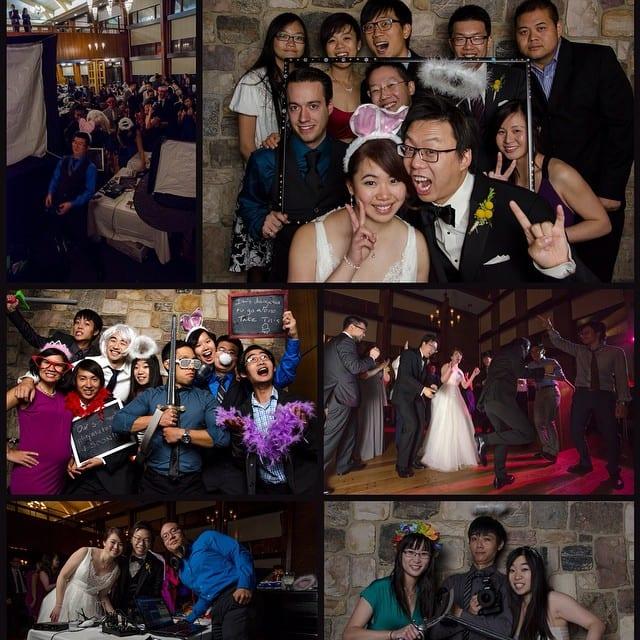 Edmonton Wedding Photo Booth