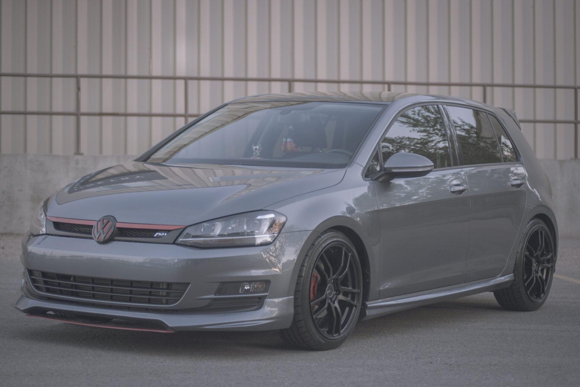 Automotive car shoot in Edmonton