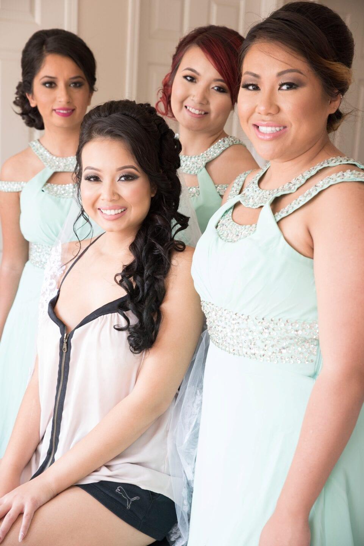 Cambodian Wedding Edmonton Calgary Photo Bridle Party