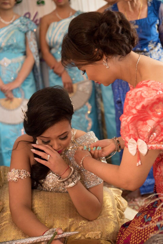 Cambodian Wedding Edmonton Calgary emotional tears