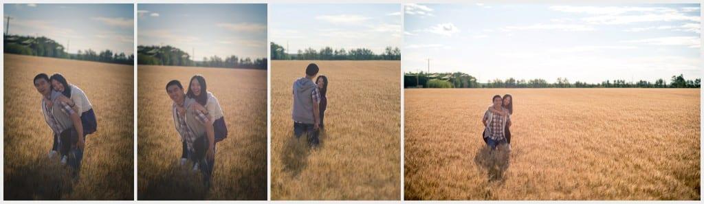 -Edmonton Outdoor Photography session Wheat Field