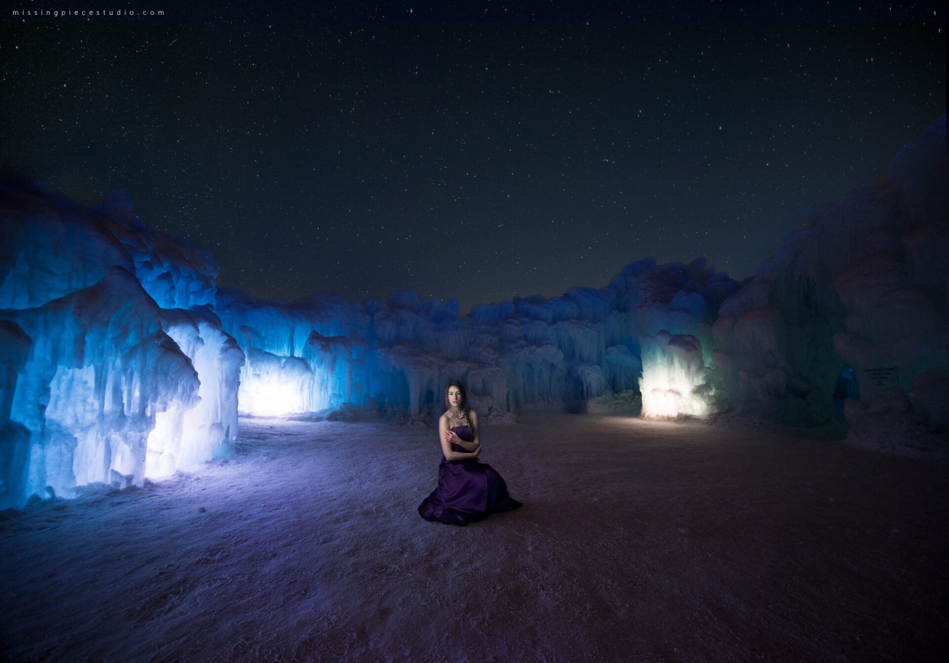 Edmonton Photography Ice Castles Winter Fashion Ice Queen-_0005