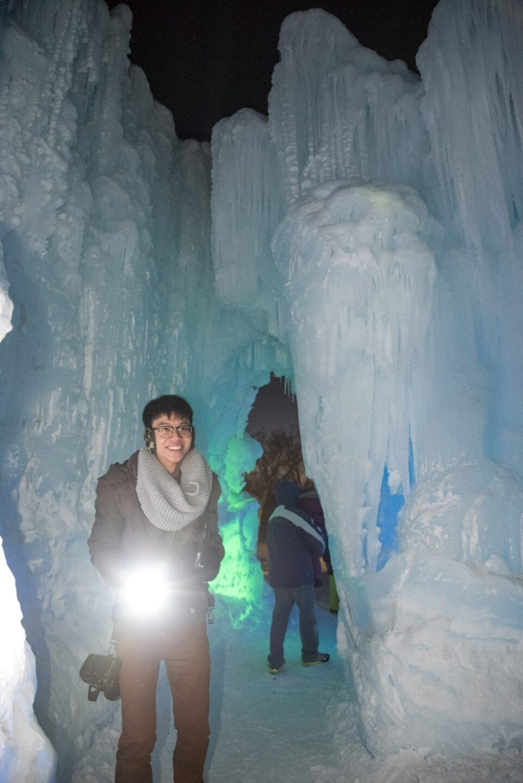 Ice Castles Edmonton Alberta Winter Visit Hawrelak Park-004