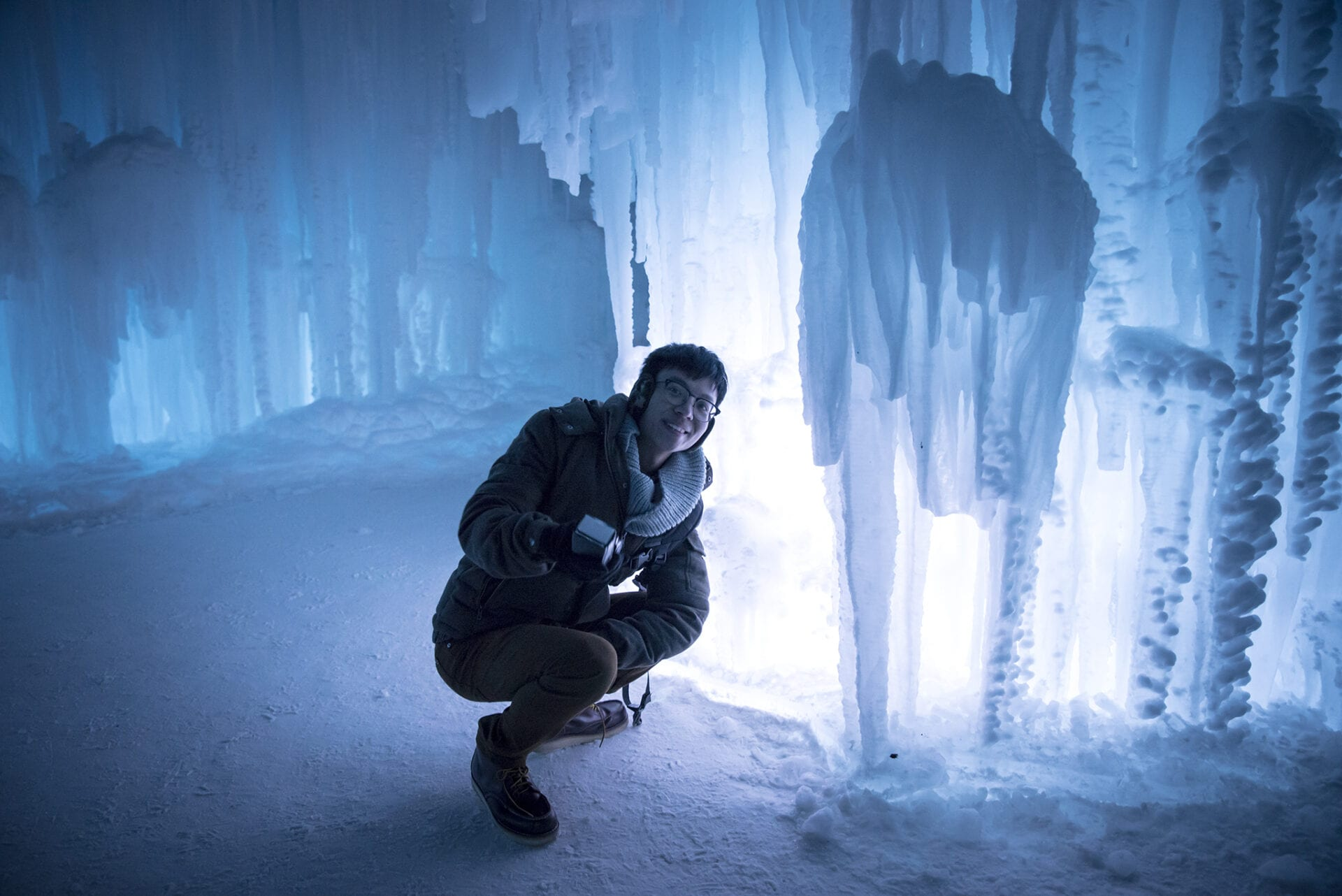 Ice Castles Edmonton Alberta Winter Visit Hawrelak Park-005