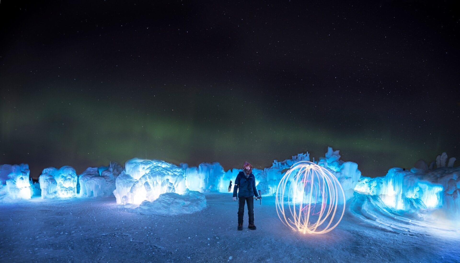 Ice Castles Edmonton Alberta Winter Visit Hawrelak Park-012
