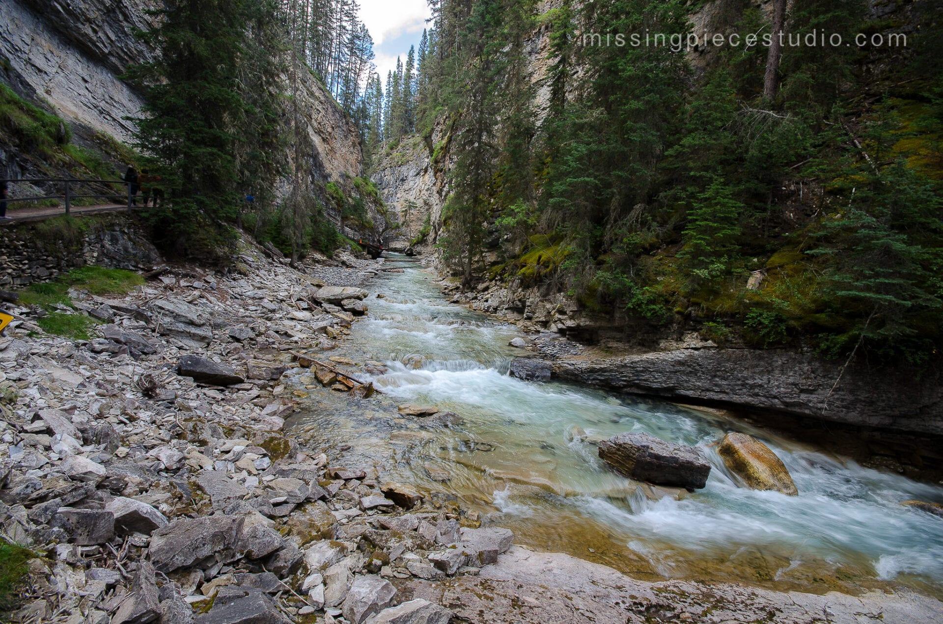 Johnston Canyon Creek-Banff Canada-Alberta016