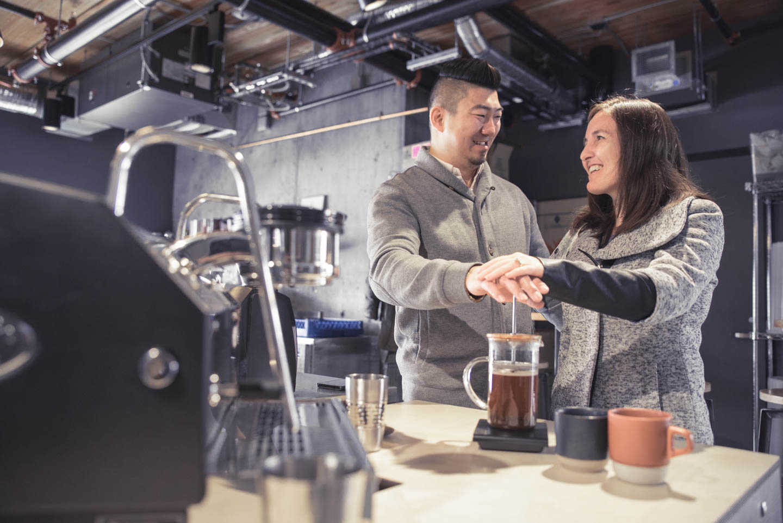 TW Edmonton Transcend Coffee Engagement -2