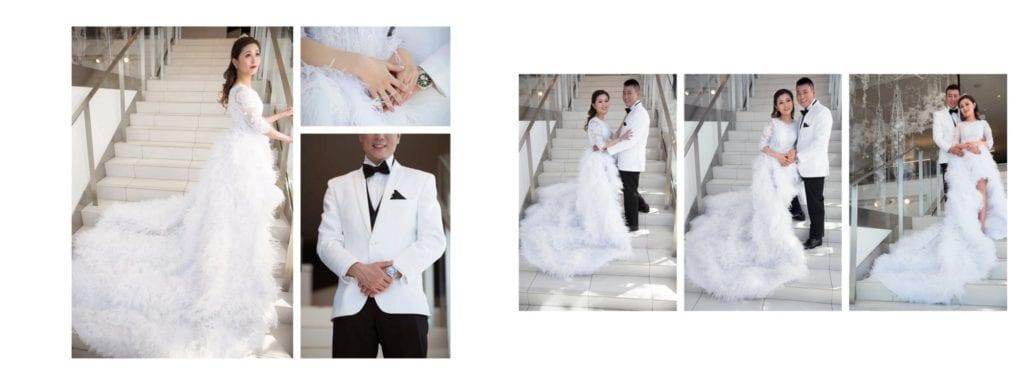 La Maison Simons Wedding Photo Shoot Edmonton