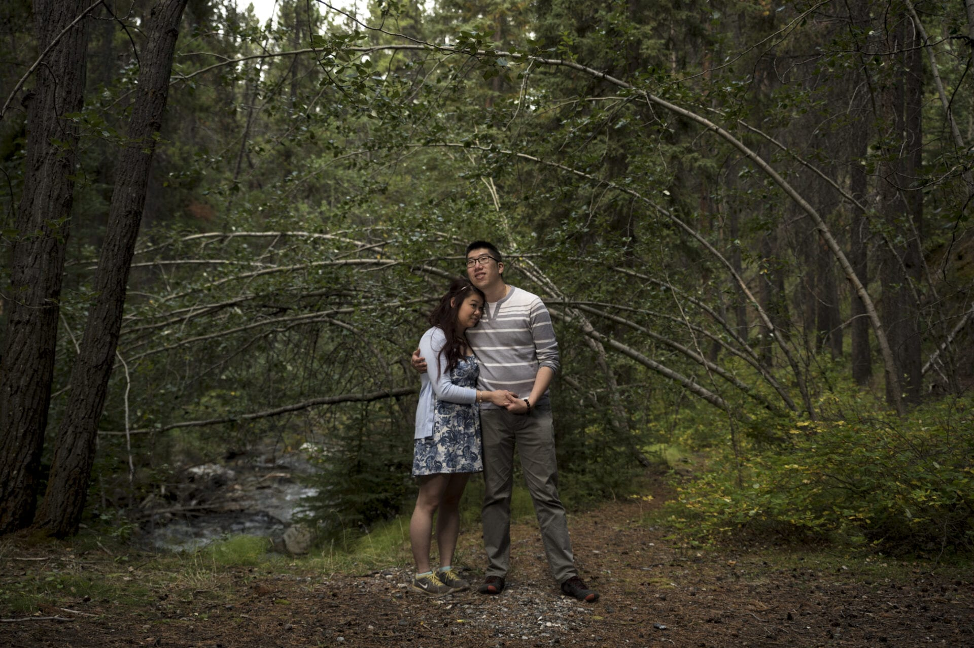 banff johnston canyon wedding photography-001