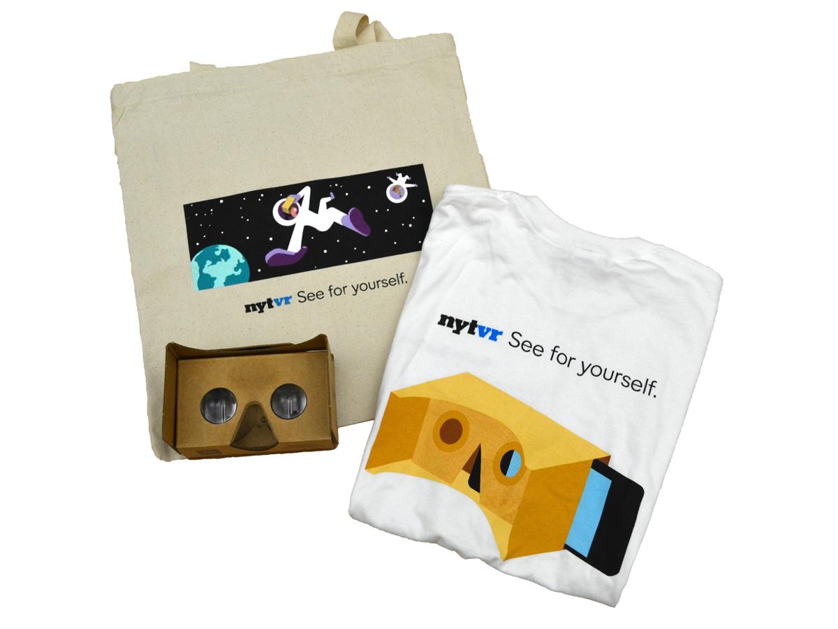 New York Times x Google Virtual Reality Promotion