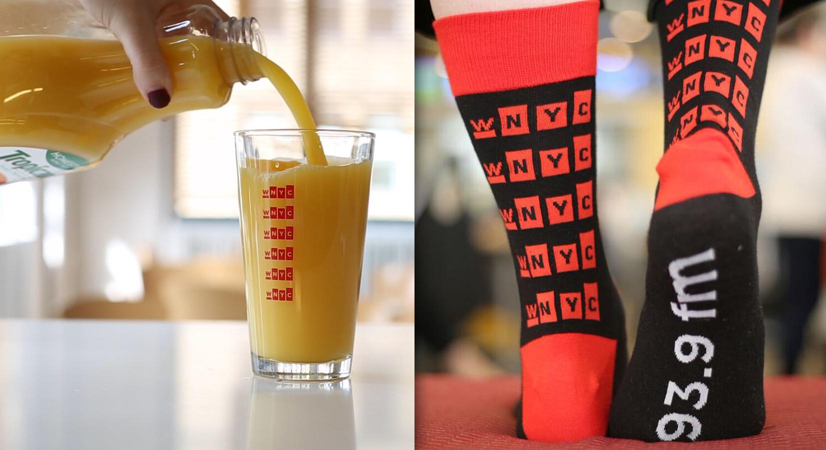 "#CreatedByCaptiv8: WNYC Branded ""Thank You"" Gifts"