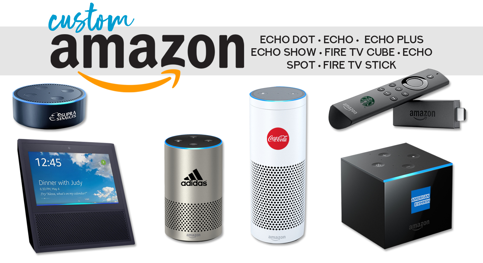 Full Line of Amazon Products – Customize Each One With Your Logo!