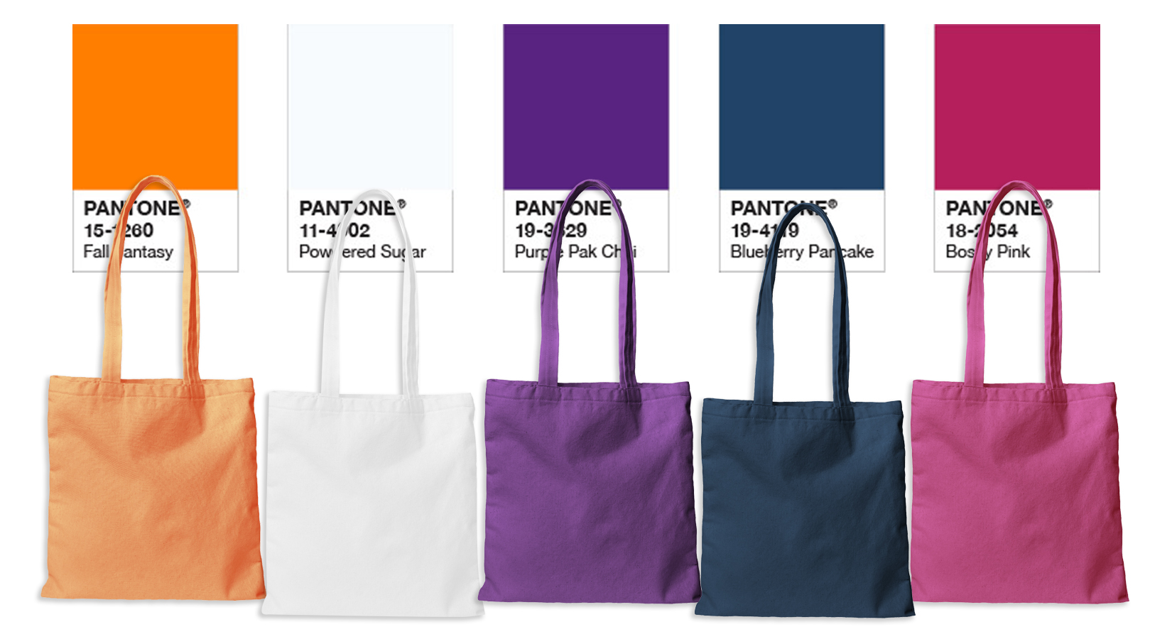 Summer 2019 Color Trends & Tote Bags to Match!