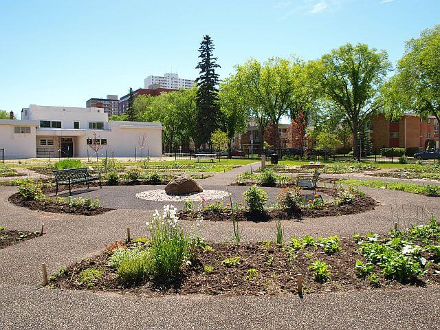 Peace Garden Park, May 2011. Photo by G. Charest.