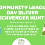 2020 Community League Day Scavenger Hunt