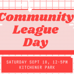Community League Day is almost here!