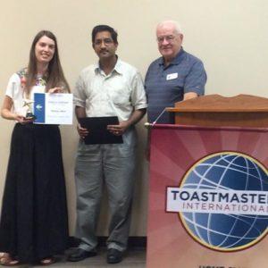 Rachel Albin wins the Evaluation Contest Fall 2016