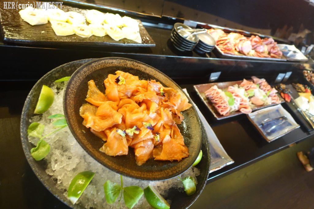 Sokyo breakfast buffet