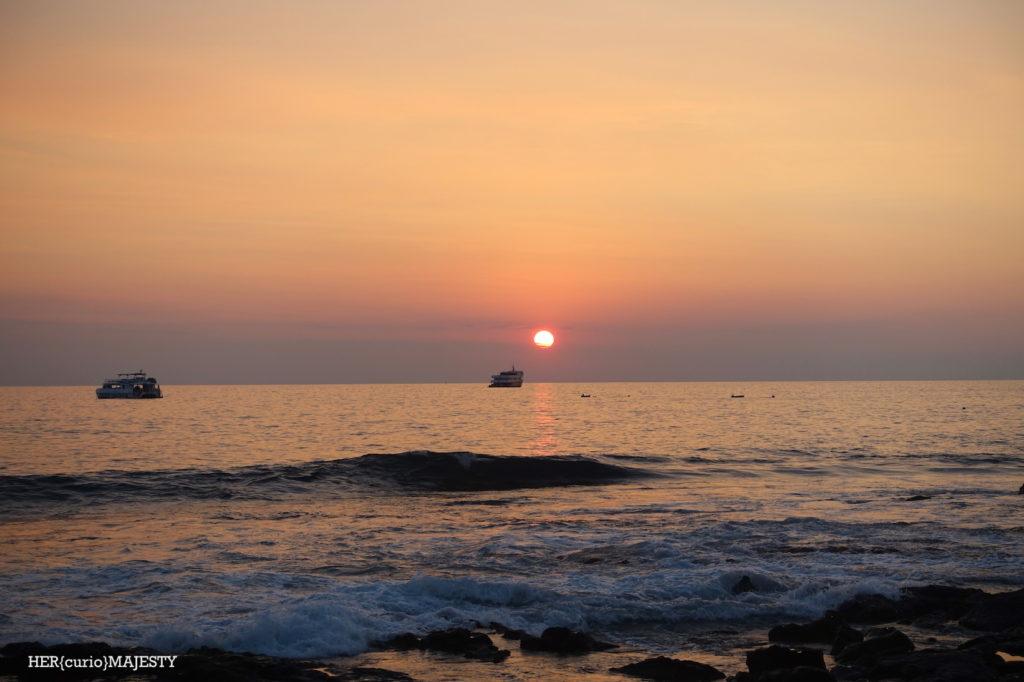夏威夷大島日落