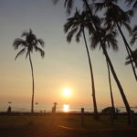 【Hawaii Travel Blog】Kona Hawaii (Big Island).::You, me; sunset and palm tree::.