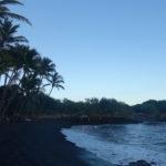 【Hawaii Travel Blog】Punaluu Beach (aka Black Beach Hawaii) .::Bah bah black beach have you any turtles::.