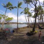 【夏威夷大島浮潛】在Tide Pools裡玩耍 .::清澈見底的天然潮汐池::.