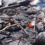 【Hawaii Travel Blog】Lava hike .::WE POKED RED HOT FLOWING LAVA::.