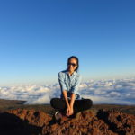 【Hawaii Travel Blog】Mauna Kea, Big Island .::Sunset above the sea of clouds::.