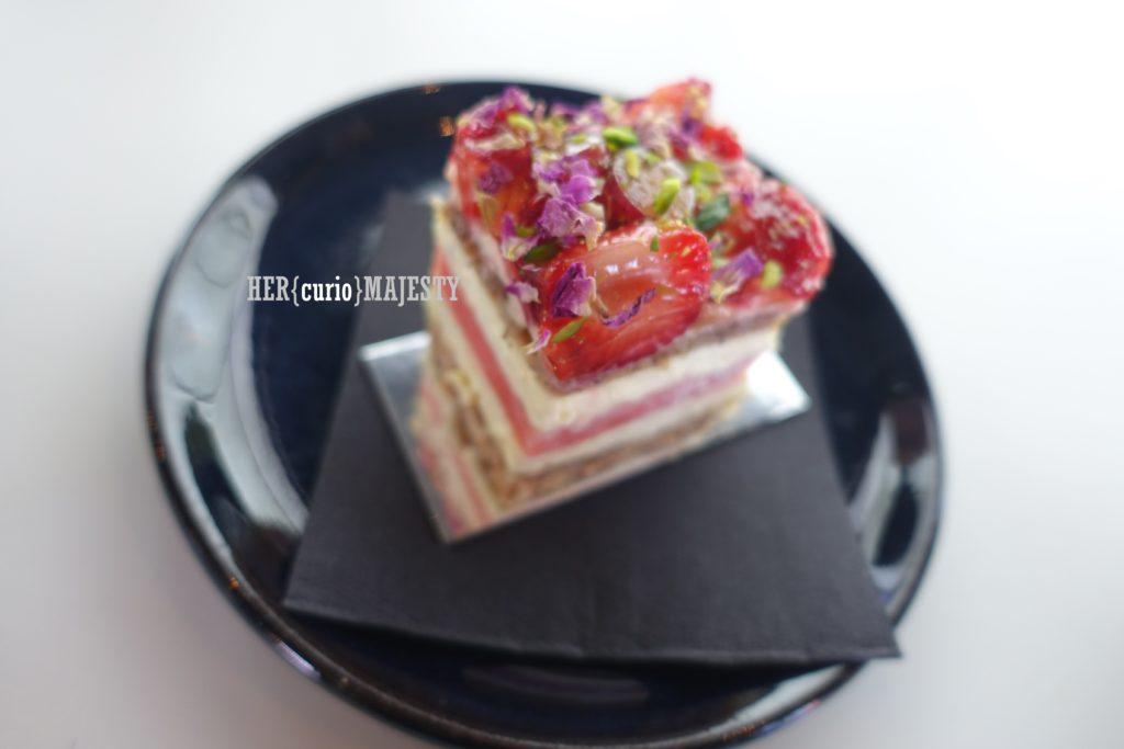 雪梨草莓西瓜蛋糕