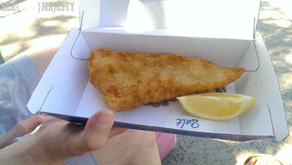 雪梨最好吃的炸魚薯條