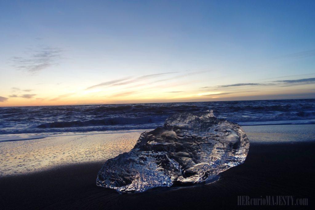 Jökulsárlón glacier - Diamond Beach