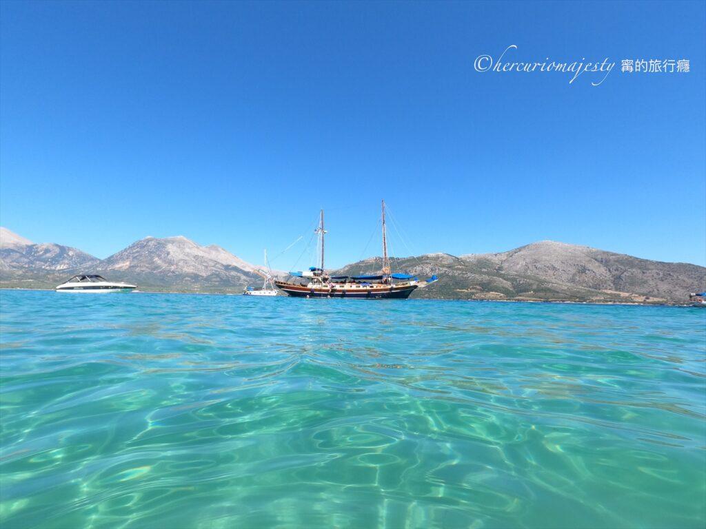 "Lefkada必去 | ""M/S Christina""最夢幻最完美的出海一日遊船"