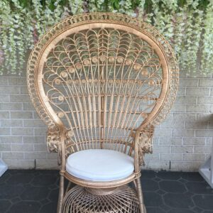 Gold Peacock Chair